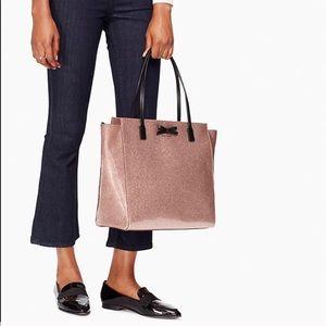 Kate Spade Mavis Bag in Rose Glitter